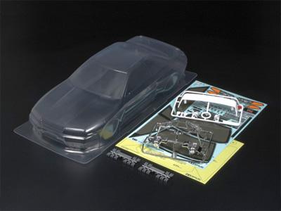 タミヤ SP.1365 1/10RC NISSAN スカイライン GT-R (R32)スペアボディ 51365
