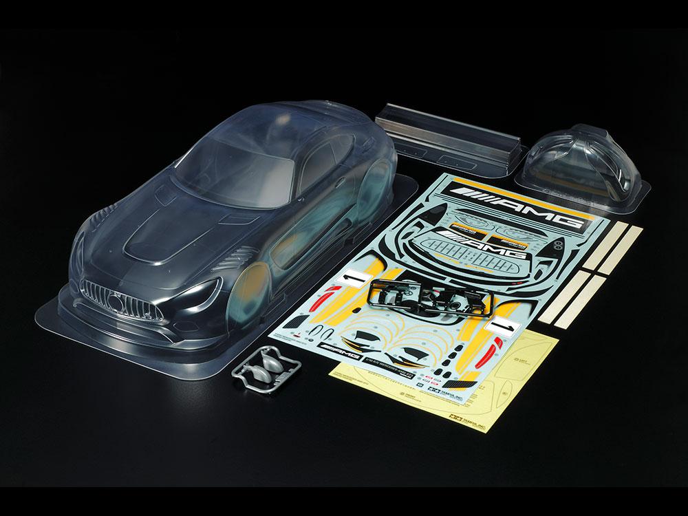 タミヤ SP.1590 1/10RC MERCEDES-AMG GT3スペアボディ 51590
