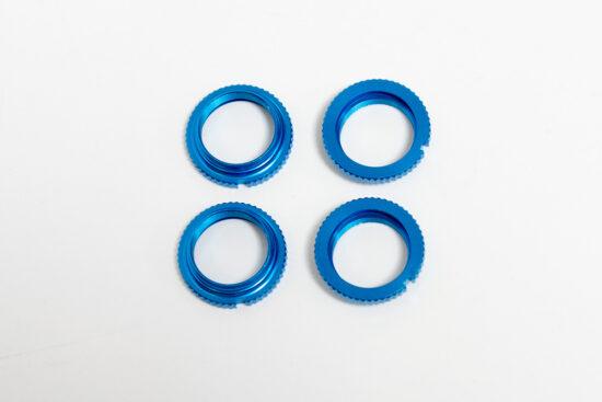 タミヤ バギーダンパーシリンダー用 スプリングリテーナー(4青) カスタマーサービスパーツ 19804414-000