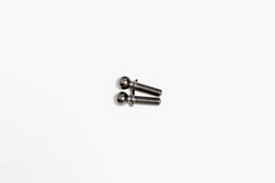 タミヤ 5x9mm 六角ピロボール(潤滑メッキ)(2個) カスタマーサービスパーツ 19804381-000