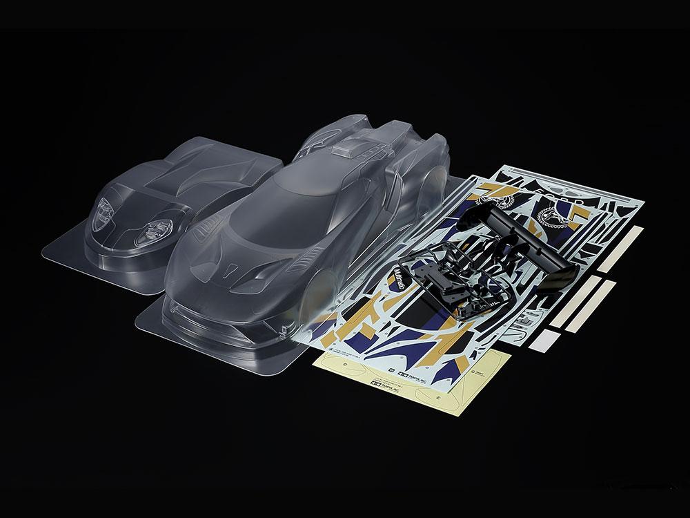 タミヤ SP.1664 1/10RC 2020 フォード GT Mk II スペアボディセット 51664