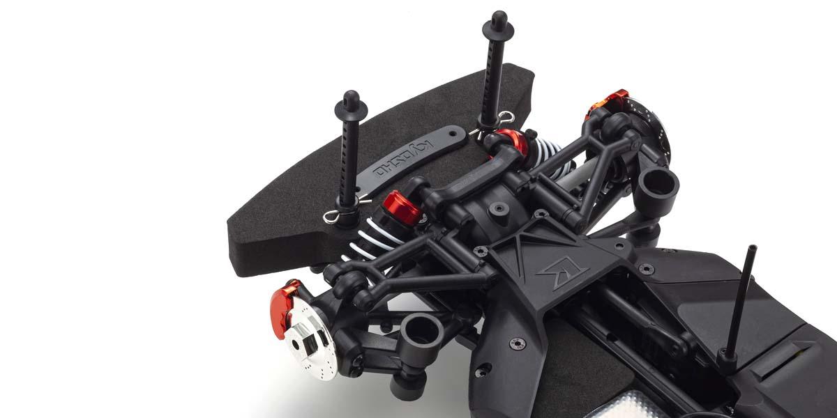 京商 1/10 EP 4WD フェーザーMk2 FZ02L レディセット 2015 ダッジ チャレンジャー SRT ヘルキャット B5 ブルー  34415T2