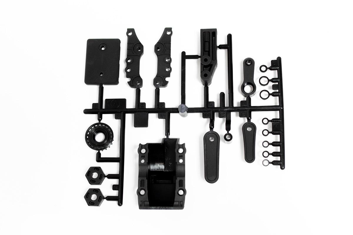 タミヤ Aパーツ:黒(バルクヘッド)(ガラス)(x1)(58693)(TA-08) カスタマーサービスパーツ 10015144-000